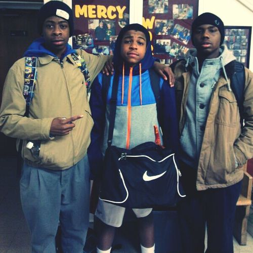 Me And Bros After The Game