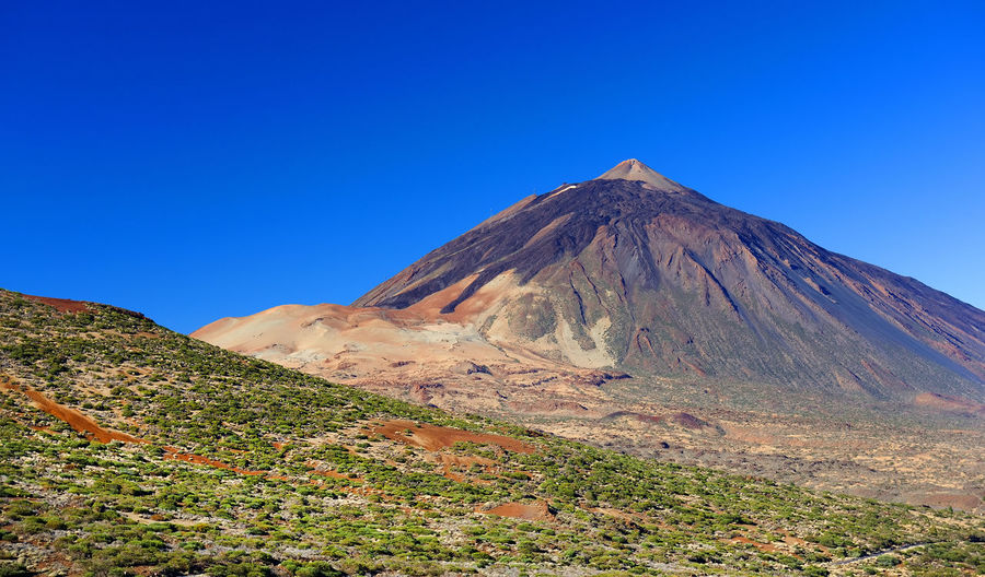 Scenic View Of Landscape At El Teide National Park