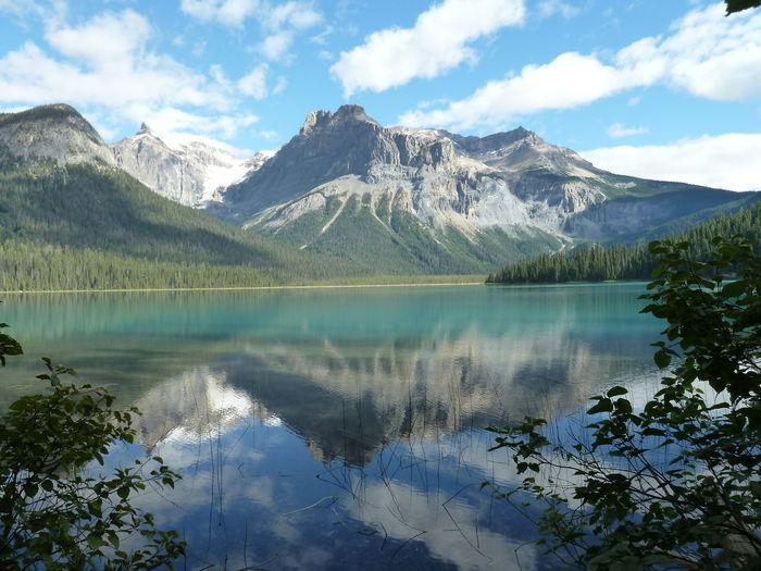 Beauty In Nature Horizontal Symmetry Lake Mirroring In Water Mountain Nature