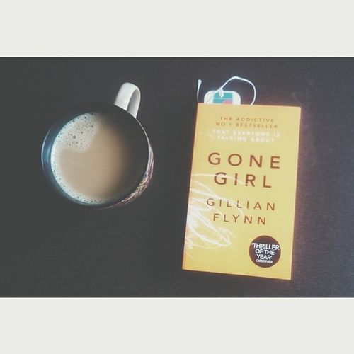 Finally it has arrived.. Gonegirl Gillianflynn Mystery Thriller novel coffee books heaven instagood instabooks instanovel picoftheday TFL