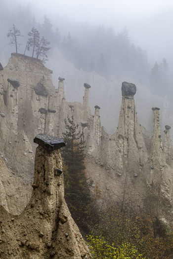 Castle on mountain