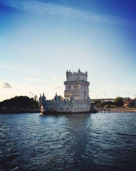 Belém Tower Lisbon Belem Tower Tagus River Portugal First Eyeem Photo