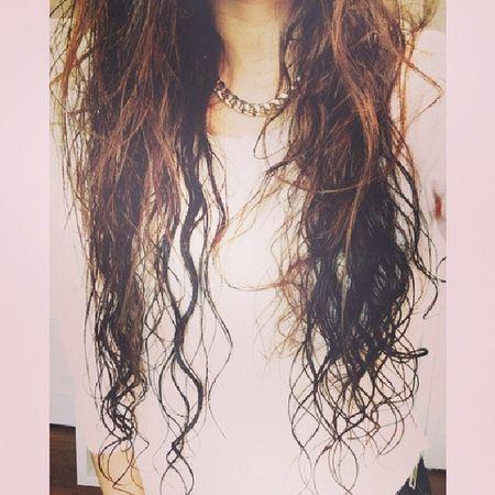 Swim Wethair  Brunette Curls waves