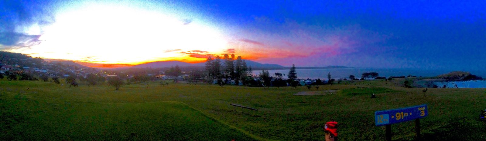 Beautiful sunset at an amazing place