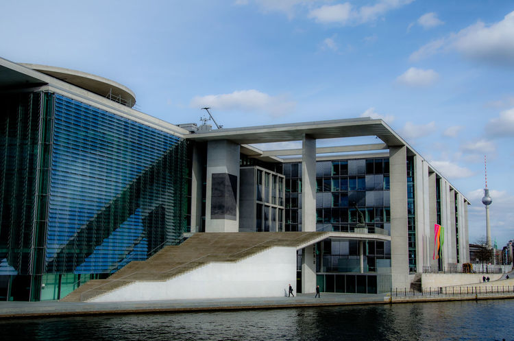 Marie-Elisabeth-Lüders-Haus Marie-Elisabeth-Lüders-Haus Berlin Spree Architecture Building Building Exterior Built Structure City Cloud - Sky Day Façade House Low Angle View Modern Nature No People Outdoors Reflection Sky Water Window