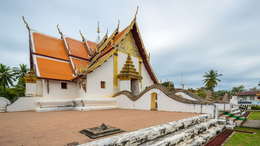 Wat Phumin Ancient Antique Art ASIA Beautiful Place Buddha Budhism Building Chruch Culture Face Famous Place Golden NAN Thailand Northern Ireland Old Picture Religion Temple Thailand Travel Destinations Wat Phumin