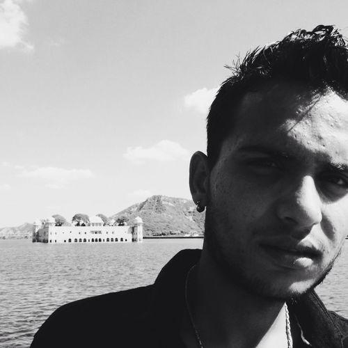 rahul with lake
