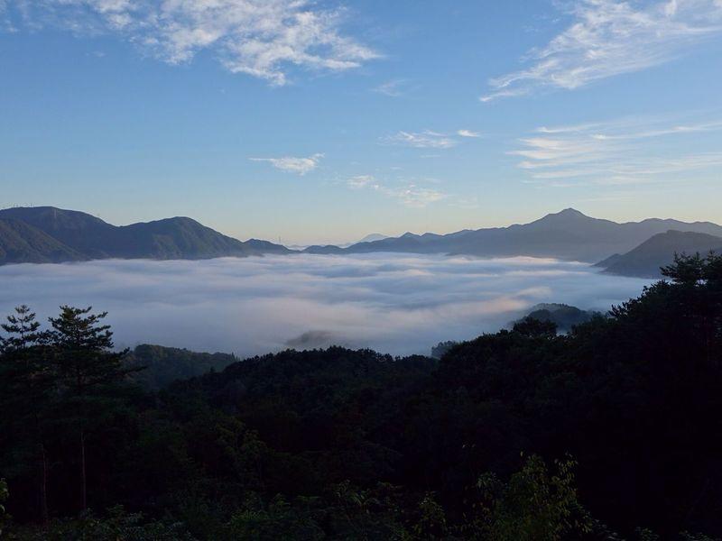 空 雲海 雲 山