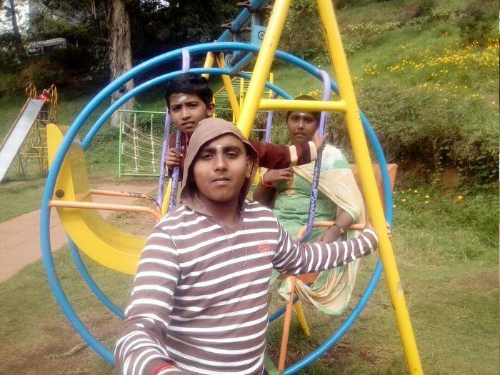 My Trainee Harish at Kodaikanal
