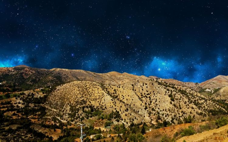 EyeEmNewHere the best place ever Star - Space Night Landscape Astronomy Space And Astronomy Milky Way Mountain Nature Galaxy Scenics Space Sky Beauty In Nature Mountain Range Planet - Space No People Star Field Mountain Peak Constellation Arts Culture And Entertainment Snapchat : Akouaouchissam1