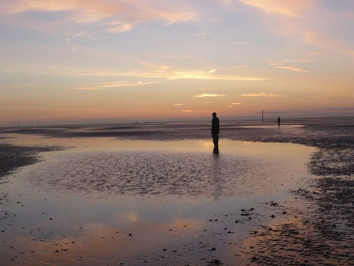 Golden Hour Sunset Sculpture Reflections Sea Serenity Peace First Eyeem Photo 43 Golden Moments