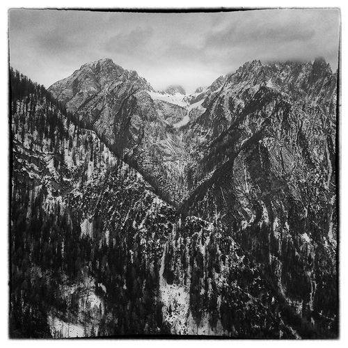 Jagged Teeth Blackandwhite Black And White How's The Weather Today? Skitouring Österreich Ice Ogres Mountains