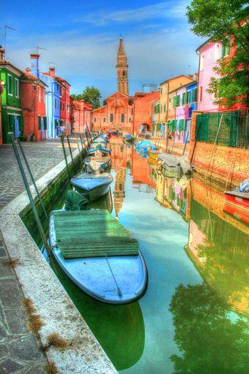 Burano Island Burano, Italy HDR HDR Collection Rob Handgraaf Fotografie Travel Destinations
