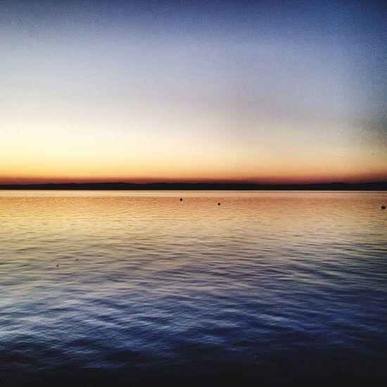 Throwback Sunset Lake Balaton Balaton Siofok