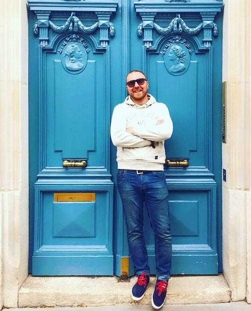 Human Body Part Day Men One Person Only Men People One Man Only City Street Paris Street City Life Door Lock