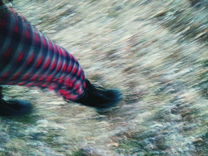 Walking Around Grass Photography Motion Move On Capturing Movement Favorite Places Plad Pants Gogo Pic Goin' To A Go Go Golf Go A Birds Eye View