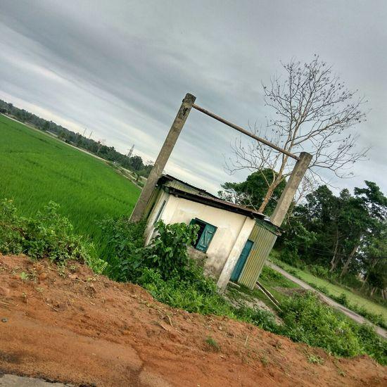 Tripura Houses Evening