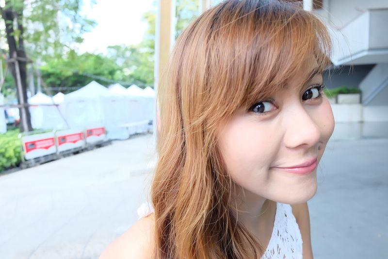 Smile Girl Portrait Asian  Beautiful