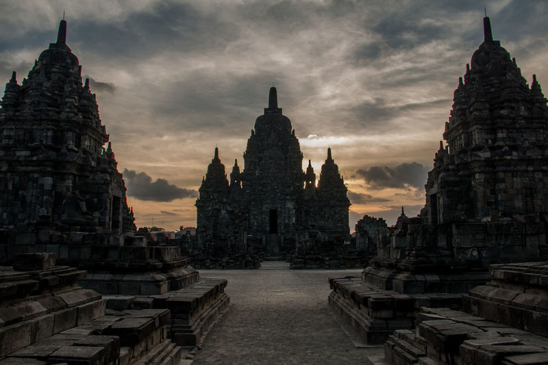INDONESIA Ancient Civilization Architecture Building Exterior Built Structure Day History No People Outdoors Place Of Worship Religion Sky Spirituality Statue Temple Travel Destinations