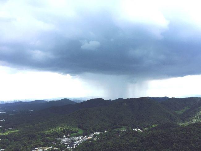 Coming Rain Mountain Sky Nature Landscape Cloud - Sky Day Mountain Range Scenics Beauty In Nature