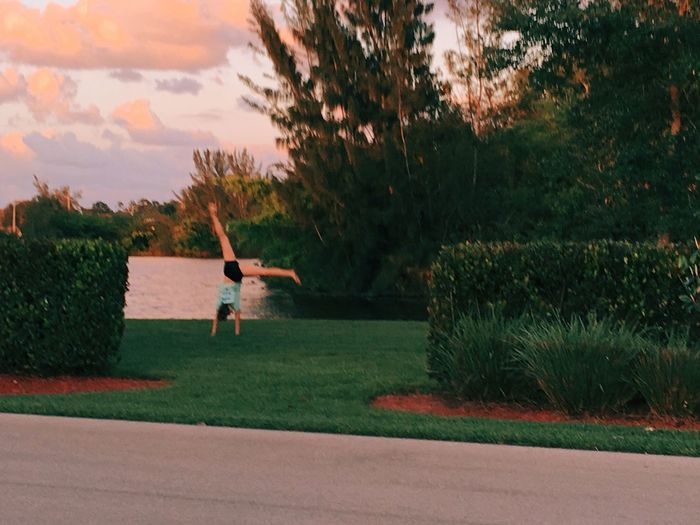 Cheerleader in the Distance