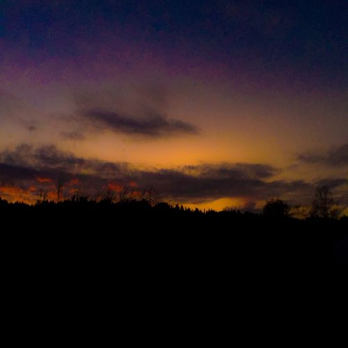 Gambo Newfoundland Shot On IPhone 6s Iphonography Sunset Rural Scenes