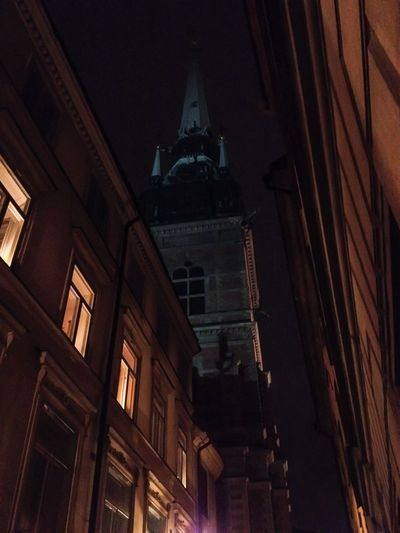 Storkyrkan Nightphotography Gamla Stan Stockholm