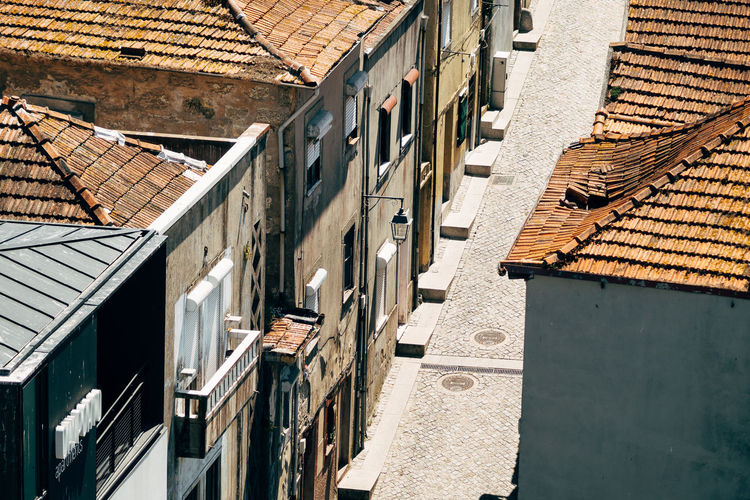 Porto   City view Breathing Space Porto Architecture Building Exterior Built Structure Day Fivedaysporto High Angle View No People No People, Outdoors Roof Shadow Street Sunlight Window Your Ticket To Europe