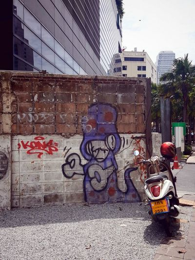 Travel Photography Streetphotography Travelshots Cityscape Southeast Asia Streetart/graffiti Everydayasia Bangkok Moped Motorbike Motorcycle Bike