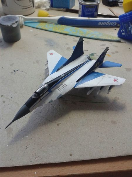 Mig MiG29 Fulcrum Swifts Model Airplane Model Ussr Cccp Coldwar