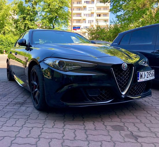 Gulia Alfa Romeo Mode Of Transportation Transportation Car Motor Vehicle Land Vehicle Built Structure Street Day Outdoors City