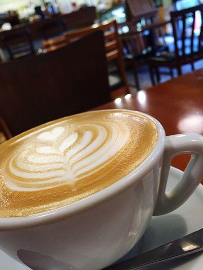 のんびりと Cafe Latte Art First Eyeem Photo