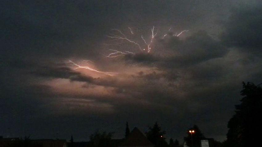 Blitze Gewitter ⚡️ Gewitterwolken Serie