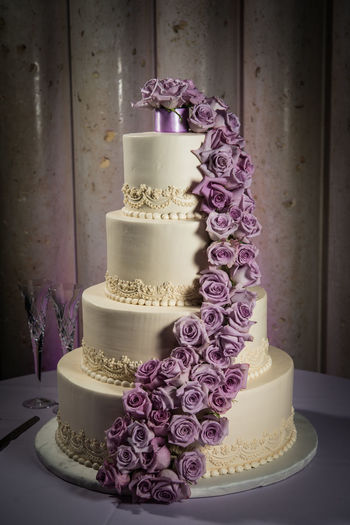 Wedding cake Ceremony Day Flower Freshness Indoors  Love No People Purple Table Tradition Wedding Wedding Cake