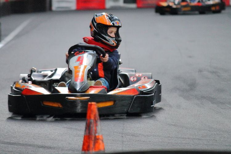 Sport Competition Speed Karting Indoors  Karting Circuit Photo Sport Mecanic Sport Children Sport