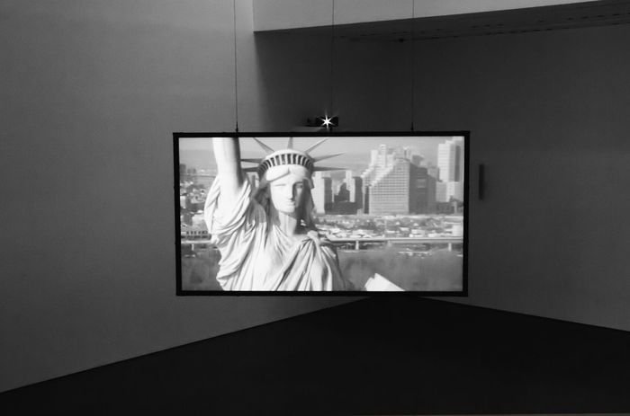 Art Installation at the Moma from Steve McQueen Architecture Window No People Built Structure Close-up Day Bnw_friday_eyeemchallenge Bnw_exhibition Installation Ladyphotographerofthemonth Art Installation Statue Of Liberty Screen Big Screen Moma Moma N.Y. Steve McQueen Art Arts Culture And Entertainment EyeEm Selects