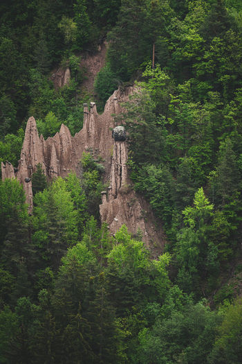 Natural structures made by our earth