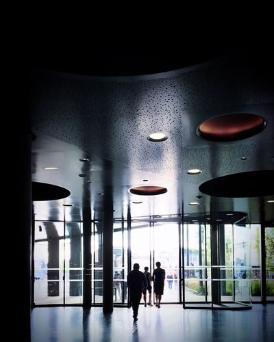 Bordeaux Cité Du Vin Museum Exposition Main Entrance Silhouettes Backlight People Modern Architecture Architecture Details Geometric Shapes Light And Shadow Indoors  Reflection From My Point Of View EyeEm Best Shots EyeEm Selects EyeEmBestPics Taking Photos Hello World