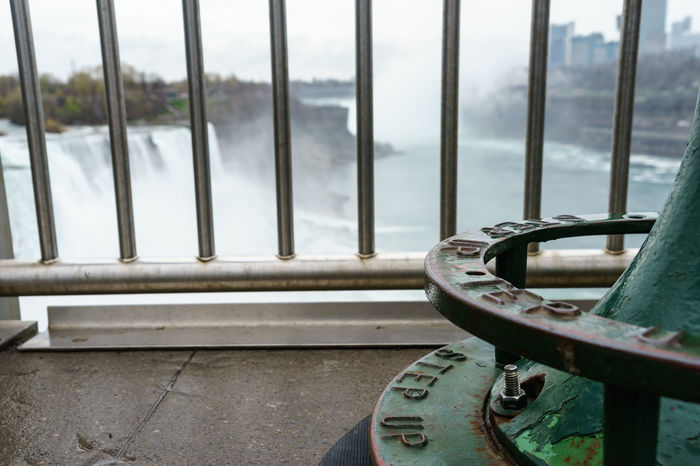 America Break The Mold Close-up Day Fashion Focus On Foreground Landmark Metal National National Park Nautical Vessel New York Niagara Niagara Falls Niagara Falls NY No People Outdoors Railing River Sightseeing State Park  Tourist USA Water Water Falls