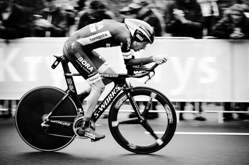 Rudiger Selig speed cycling at the inaugural time trial at the Tour de France in Dusseldorf on July 1, 2017. Bicycle Close-up Cycling Day Düsseldorf Fast Helmet Land Vehicle Mode Of Transport No People Outdoors Professional Sport Race Rüdiger S-Works Selective Focus Selig Specialized Speed Sports Race Text Time Trial Tour De France Tour De France 2017 Transportation