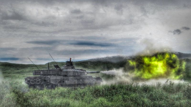 富士教導団第一中隊10式戦車 JGSDF