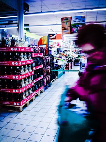Shopping time Retail  Store Consumerism Abundance Large Group Of Objects Real People Choice Indoors  Market One Person Supermarket IMography
