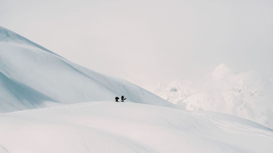 Powder Ski Winter Canada Snow Mountain Winter Ski Holiday Vacations Winter Sport Landscape Adventure Outdoors Sport Snowboarding People Extreme Sports Adults Only Scenics Travel Destinations Visual Creativity Going Remote