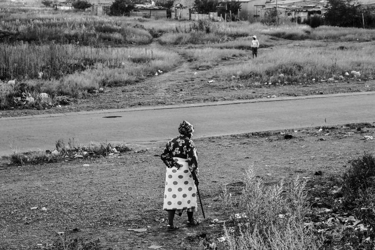 Real People One Person Full Length Day Standing Outdoors Field Lifestyles Rear View Leisure Activity Nature Men Landscape Childhood Beauty In Nature Women Tree Adult People Adults Only EyeEm Gallery EyeEm EyeEm Selects Faces Of EyeEm South Africa The Week On EyeEm My Best Photo Springtime Decadence