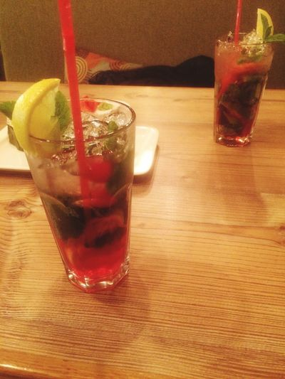 Refreshment Drink Food And Drink Glass Straw Table Drinking Glass