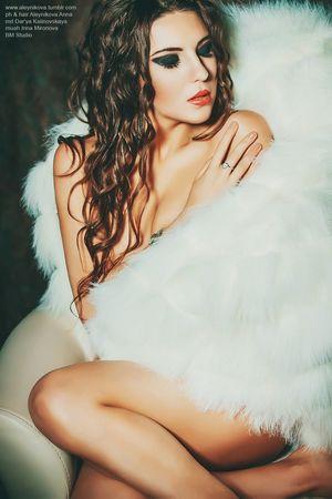 Crimea Fashion Style Hot Girl Boussanna Makeup Photography Photo Sexygirl