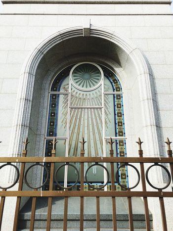 Mormon Lds Lds Temples Window Lubbock, TX Temple Railing No People Day Architecture Built Structure Outdoors