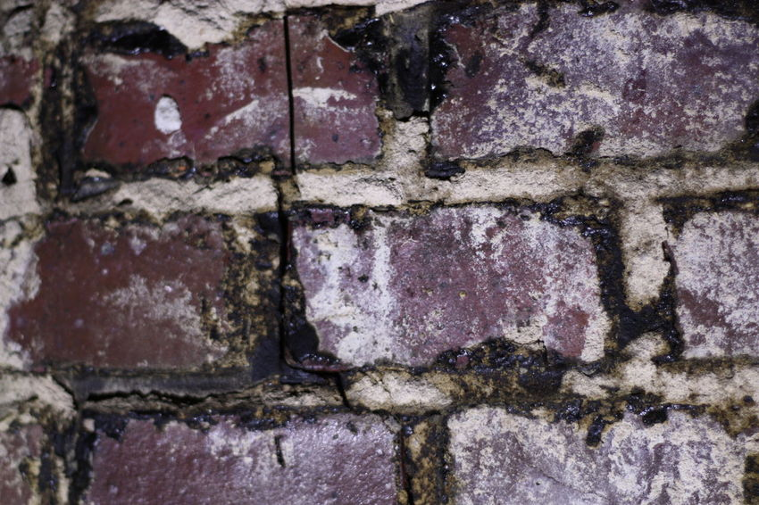 Wall Backgrounds Brick Wall - Building Feature Brick Wall Textured  Full Frame Built Structure Architecture No People Weathered Old Close-up Rough Pattern Day Solid Outdoors Damaged Decline Deterioration Stone Wall Concrete Cement