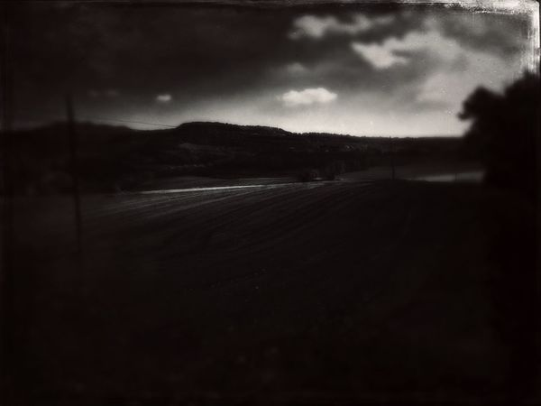 Countryside Country Road Agriculture Darkness And Light Lleida Clouds And Sky Catalunya Defocused