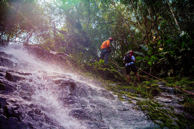 Ecoturismo Meleiro, Brazil Turismo De Aventura Adventure Backpack Beauty In Nature Challenge Climbing Day Ecoturism Exploration Extreme Sports Forest Group Of People Headwear Helmet Hiking Journey Mountain Nature Outdoors People Real People RISK Sports Helmet Teamwork Travel Tree Young Adult